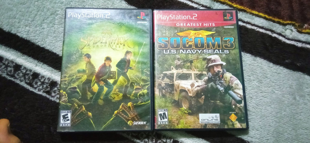 KIT JOGOS | THE SPIDERWICK CHRONICLES + SOCOM 3 U.S NAVY SEALS + BRINDE: MEMORY CARD 8MB