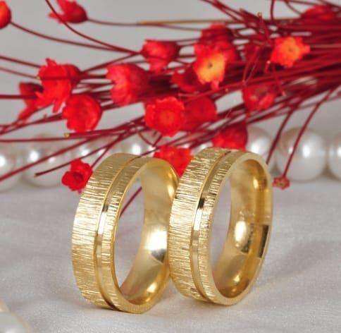 Par de alianças de casamento ,6mm.