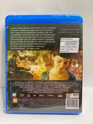 O Fabuloso Destino De Amelie Poulain - Blu Ray - Lacrado - Foto 2