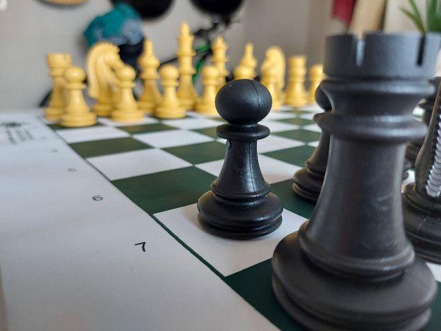 Jogo de Xadrez oficial - Foto 3