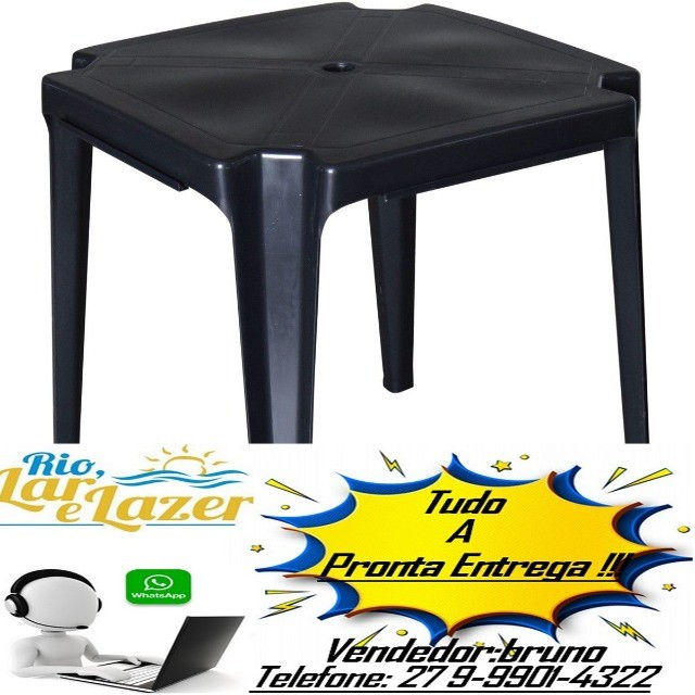 mesa monobloco de plastico - Foto 2