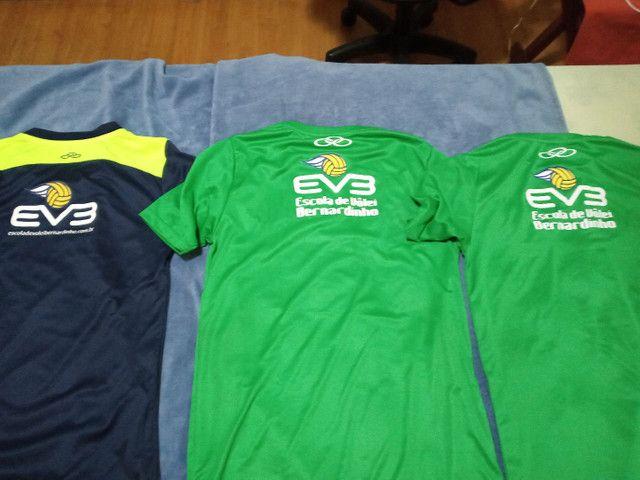Olympikus,  pacote com 3 camisas Olympikus Bernardinho Originais Novas Dry Fit  - Foto 2