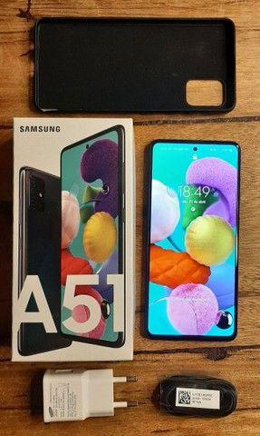 Galaxy A51  128 Gb  na garantia - Foto 2