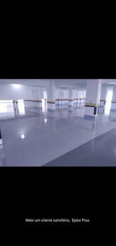 Total pisos (TUDO EM PISOS) Pintura epóxi PU alto nivelante MELHOR PREÇO DE CURITIBA - Foto 5
