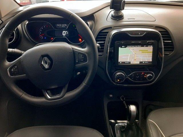 Renault Captur Intense 1.6 automatico CVT 2018 único dono. Revisões na concessionária. - Foto 11