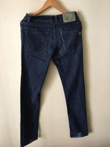 Calça Jeans Escura Presidium 38  - Foto 2