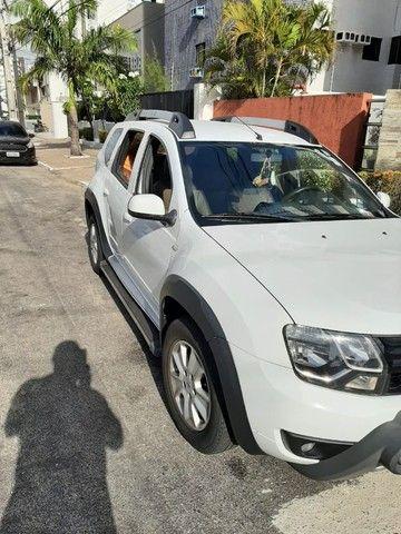 Renault Duster - branca - automático - único dono - Foto 8