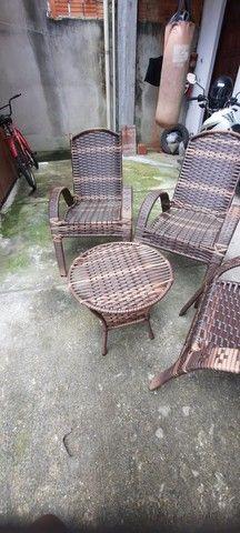 Lindas cadeiras Sofia luxo  - Foto 3