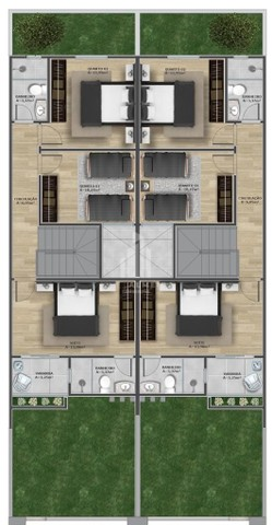 Casa Duplex Próxima ao Shopping Conquista Sul - Foto 3