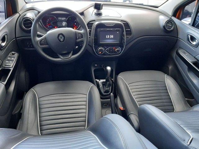 Renault Captur Intense 1.6 automatico CVT 2018 único dono. Revisões na concessionária. - Foto 8