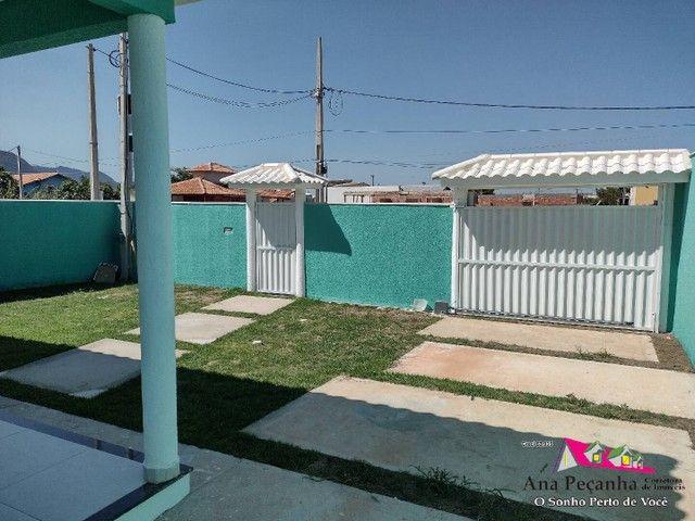 Lindíssima Casa, 3 dormitórios e Terreno Grande em Itaipuaçú! - Foto 4