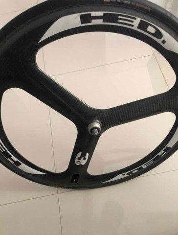 Roda hed de carbono tubular