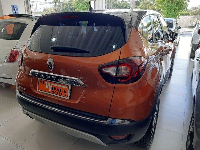 Renault Captur Intense 1.6 automatico CVT 2018 único dono. Revisões na concessionária. - Foto 6