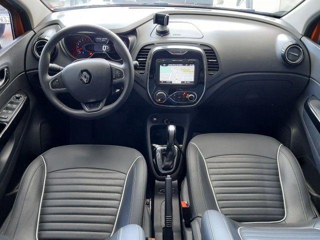 Renault Captur Intense 1.6 automatico CVT 2018 único dono. Revisões na concessionária. - Foto 10