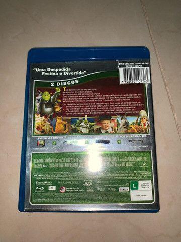 DVD Blu-ray 3D Shrek Para Sempre  - Foto 4