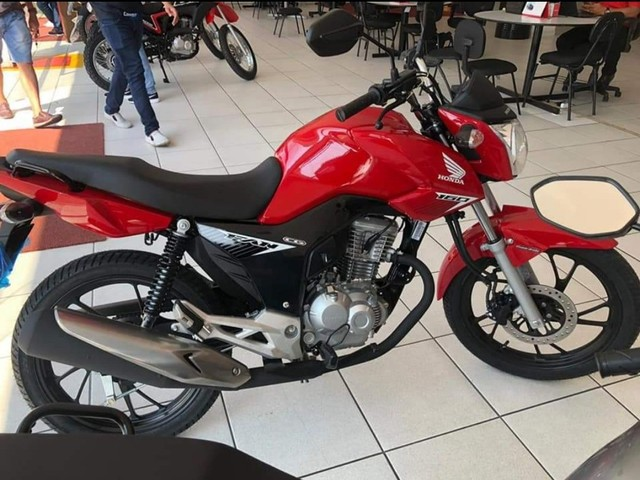Moto Honda Fan 160 Entrada: 1.480 Financiada!!! - Foto 2