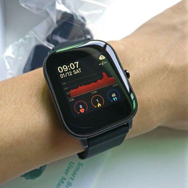 SmartWatch P8 Preto Oferta Imperdível !!!