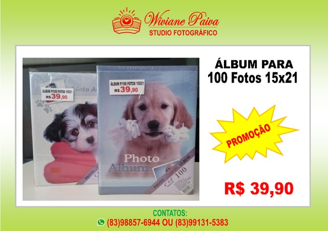Álbum para 100 Fotos 15x21