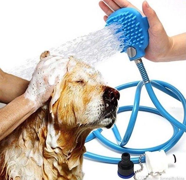 Ducha de banho para cachorro