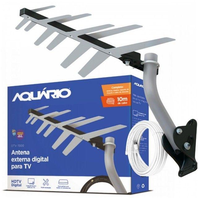 Antena externa aquario tv digital