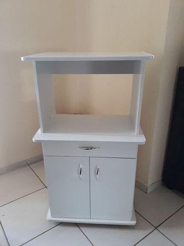 Balcão para microondas e forno