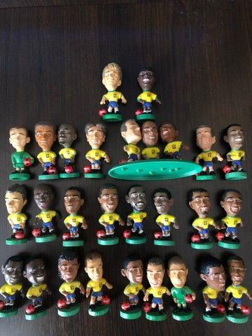 Coleção Mini Craque 1998, 26 Peças - Raridade