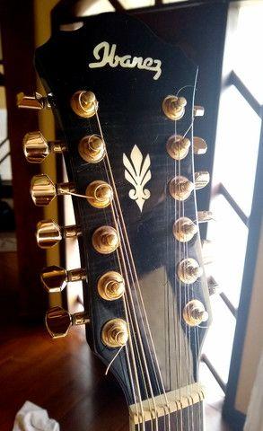 Violão 12 cordas Ibanez - Foto 4