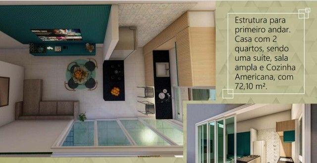 Casa na Praia dce Carapibus- Conde 2 quartos sendo 1 Suite, Em Construção!!! - Foto 3