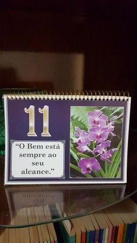 Calendário permanente com mensagens positivos - Foto 2
