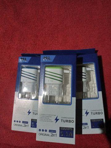 Carregador Turbo 5.1A  - Foto 2