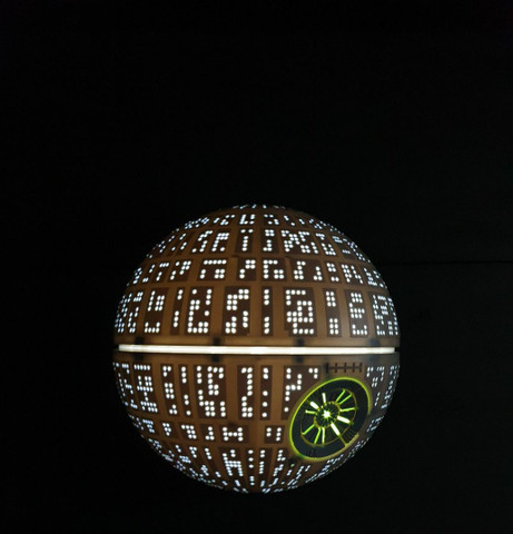 Luminária Star Wars Estrela da morte - Foto 2