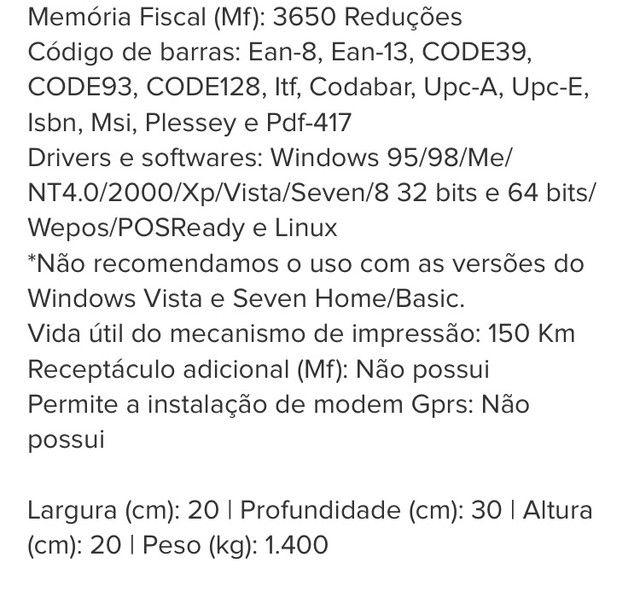 Kit Automação - Impressora Não Fiscal + Leitor Código de Barras - Foto 6