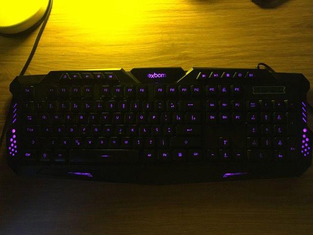 Teclado gamer 3 cores - Foto 5