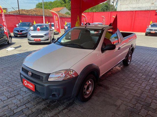 Fiat Strada CS Hard Working 1.4 Flex - 2020 - Completa (Ipva e transferência grátis) - Foto 3