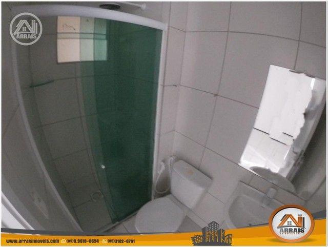 Apartamento com 3 dormitórios à venda, 64 m² por R$ 250.000 - Maraponga - Fortaleza/CE - Foto 12