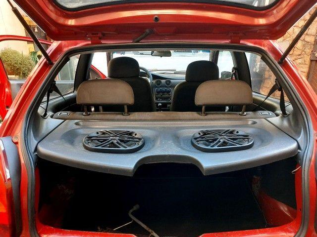 Chevrolet Celta Spirit  1.0 8v 05 Vermelho  * Parcelo na Promissória * - Foto 6