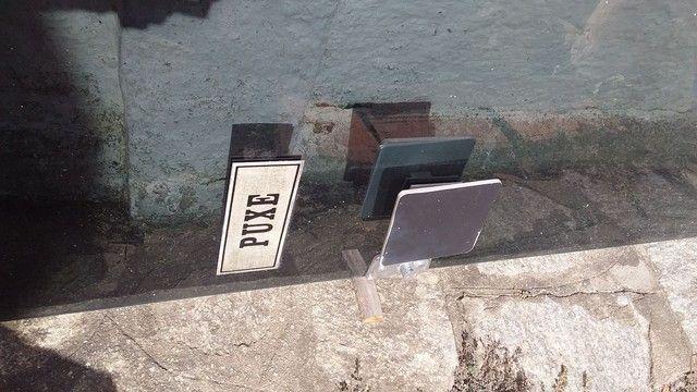 Porta de vidro com ferragem completa - Foto 4