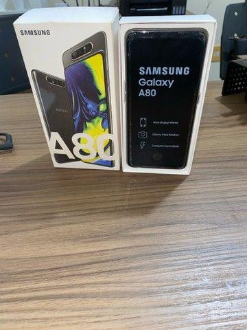 Vendo Samsung A80 , 128gb - bairro do poço - Foto 2