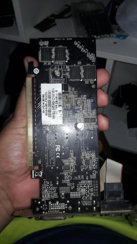 Placa de vídeo Gforce g210 1gb fan DDR3