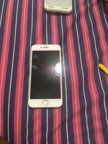IPhone 7 e case carregadora