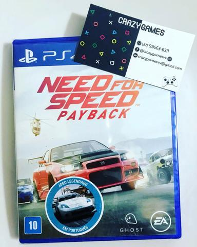 Need For Spped Payback PS4