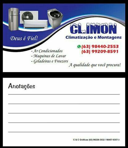 Climon climatização e montagem