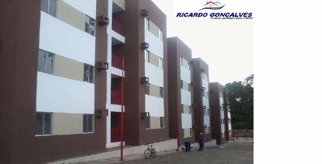 Apartamento - Novo - Cond. Vale do Gurguéia-R 190.000,00 Próximo a Uninovafapi - Financia