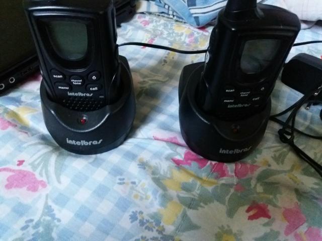Vendo dois comunicadores portáteis intelbras!