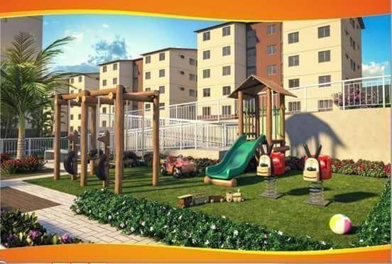 Apartamentos com 2 quartos, podendo juntar Renda e Aceito seu FGTS