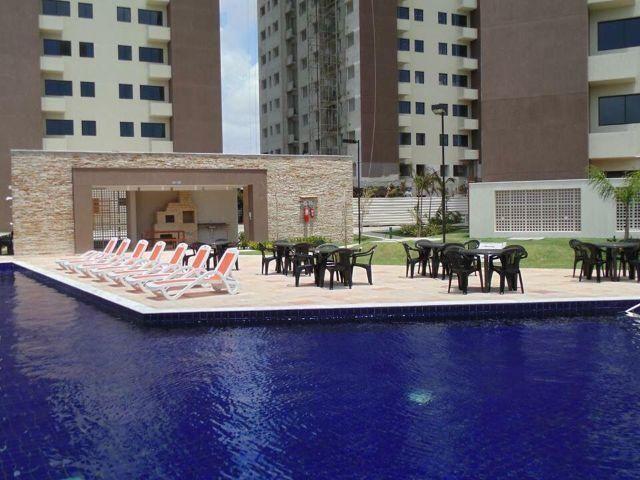 Apto 2/4 Suíte + Escritório + Armários Residencial Ecogarden Ponta Negra R189.900