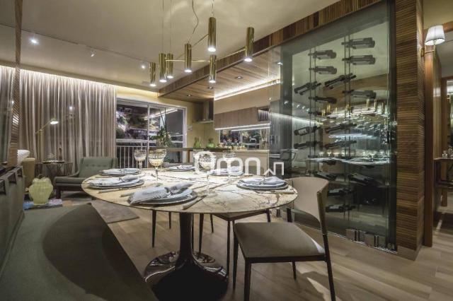 Apartamento com 3 dormitórios à venda, 84 m² por R$ 524.000,00 - Setor Oeste - Goiânia/GO - Foto 2