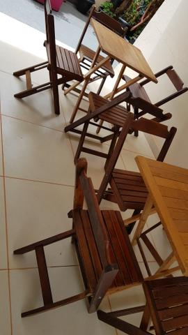 Vendo mesas e cadeiras - Foto 2