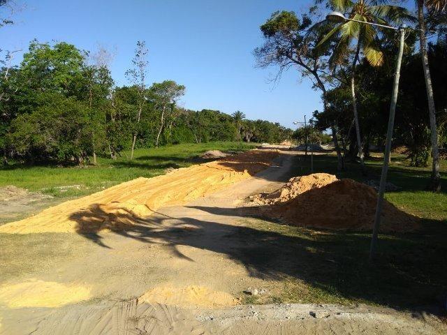 Lotes na praia em condomínio fechado ilha Vera Cruz