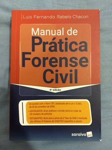 Vendo livro de prática civil